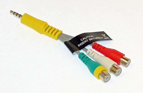 Price comparison product image Samsung AV Cable Adapter Audio Video - UN55KU750DF, UN55KU750DFXZA, UN55MU6300F, UN55MU6300FXZA