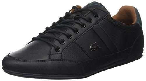 Lacoste Chaymon, Sneaker Uomo Nero (Blk/Tan)