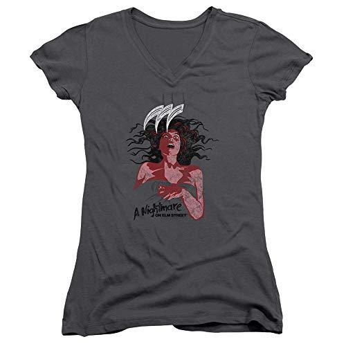 un V On p con Nightmare y camiseta Elm cuello en Street dzOnqa60n