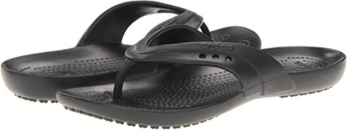crocs Women's Kadee Flip Flop,Black,10 M US ()