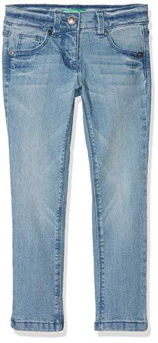 United Colors of Benetton Trousers, Pantalones para Niñas Beige (Beige 902)