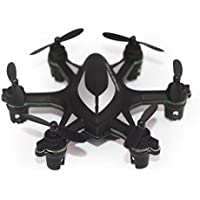 Two Years Drone Helicopter W609-5 Mini Quadcopter, RC 6 Axis Gyro LED Light 6ch Nano Drone BK
