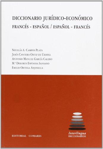 Descargar Libro Diccionario Jurídico-económico Francés- Español/español-francés Nicolás Campos Plaza