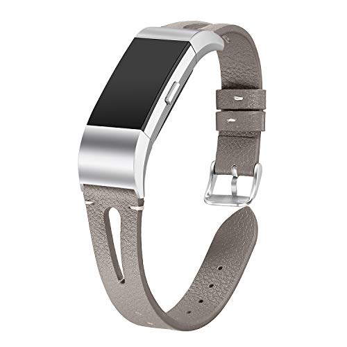 Expert choice for fitbit charge 2 bands leather brown
