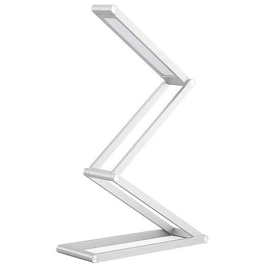 Foldable LED Desk Lamp Portable Travel Lamp USB Rechargeable