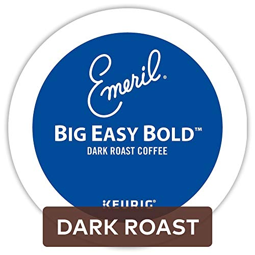 Emeril Big Easy Bold, Single Serve Coffee K-Cup Pod, Dark Roast, 72
