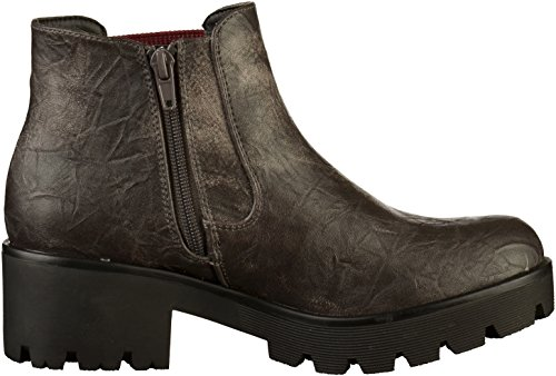 45 99290 WoMen Rot Boots Chelsea Rieker Antracite Grey f8wqWz0