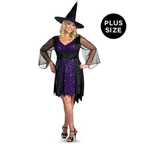 Disguise Womens Brilliantly Bewitched Costume