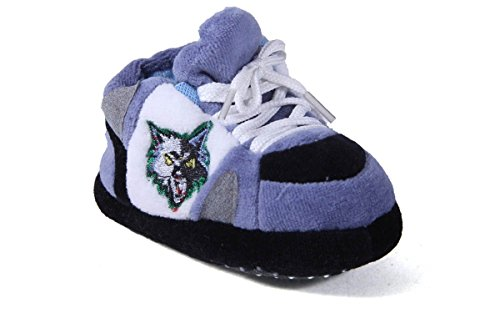 Timberwolves Minnesota Slippers - MTI03PR - Minnesota Timberwolves NBA Happy Feet Baby Slippers