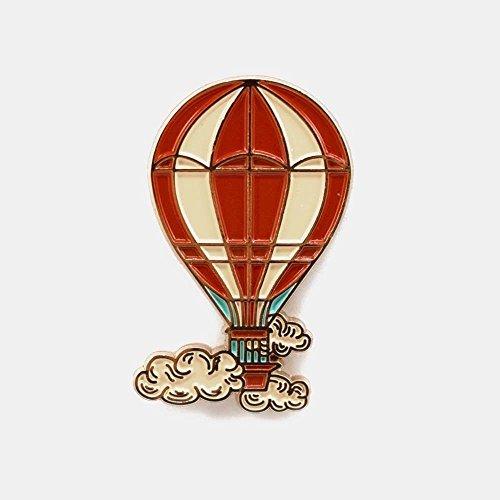 Hot Air Balloon Pin by Badaboom Studio