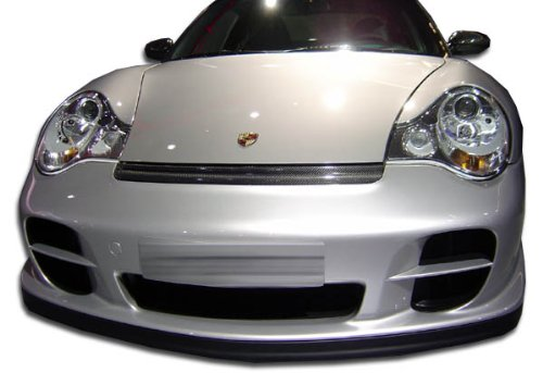 Gt2 Front Bumper - Duraflex ED-OSQ-214 GT-2 Look Front Bumper Cover - 2 Piece Body Kit - Compatible For Porsche 996 2002-2004