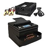 VMAX VPG12C-35Li Lithium ION Battery for 40lb Thrust Trolling Motors 35AH 12Volt + Li_Ion 10amp 16.8V Charger + Carry Case