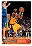 1996-97 Topps Basketball #138 Kobe Bryant Rookie Card