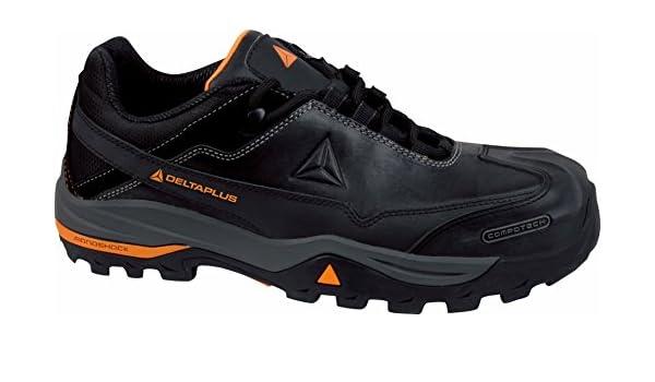 Delta plus Hombre TW300 S3 SRC Piel Plena Flor Zapatos de Seguridad EN el Trabajo: Amazon.es: Bricolaje y herramientas