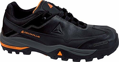 Delta Plus Shoes - Set Chaussures En Cuir Tw300-s3 Black Taille 46, 1 Paire