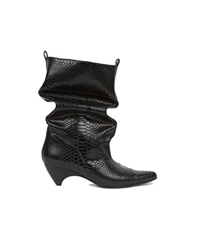 Stella McCartney Women's 515450W07601000 Black Polyester Ankle Boots opw37BwhDQ