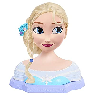 Disney Frozen Deluxe Elsa Styling Head: Toys & Games