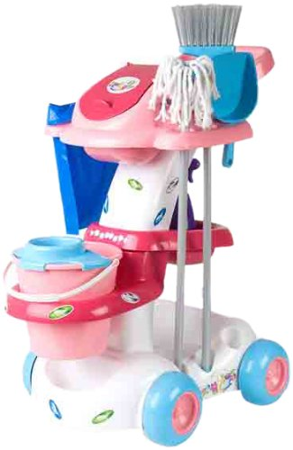 Coloma Y Pastor - Carrito Limpieza Baby Princess 53X38X61 18-9034537: Amazon.es: Juguetes y juegos