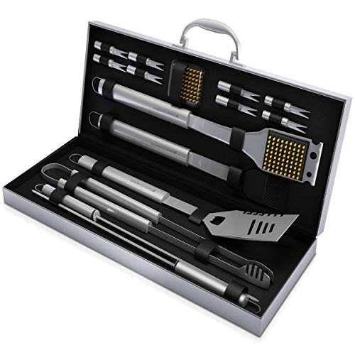 Home-Complete BBQ Grill Tool Set (16 pc)