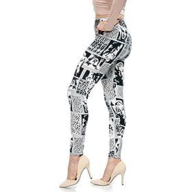 - 41YL1p7z5vL - LMB | Lush Moda | Women's Extra Soft Leggings | Variety of Prints | One Size