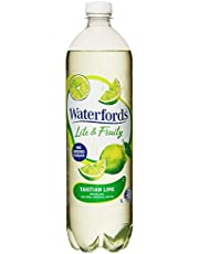 Waterfords Lite and Fruity Mineral Water, Tahitian Lime, 12 x 1L