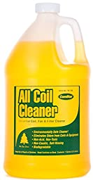 ComStar 90-180 All Coil Cleaner, Universal Coil, Fan & Filter Cleaner and Deodorizer, 1 gal, White