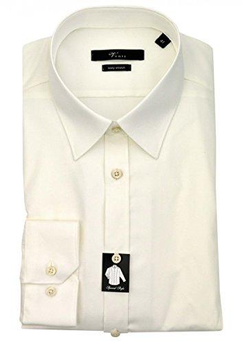 Venti Slim Fit Hemd Body Stretch creme 1470-002, Kragenweite:42