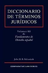 Diccionario de Términos Jurídicos (Spanish Edition)