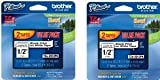 Brother 4 Value Pack P-Touch Tape (TZe2314PK)