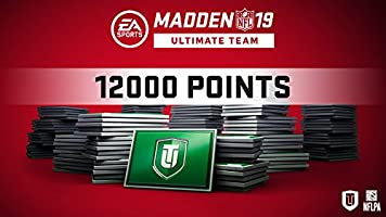Madden 19 12000  Ultimate Team Points [Online Game Code]