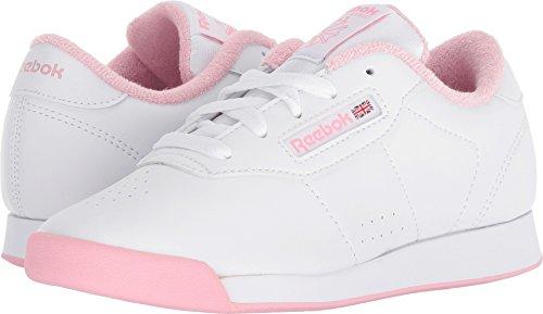 Shoe Children Watches (Reebok Unisex Princess Sneaker, White/Light Pink, 11 M US Little Kid)