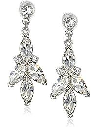 Swarovski Crystal Drop Earrings for Bridal Wedding Anniversary