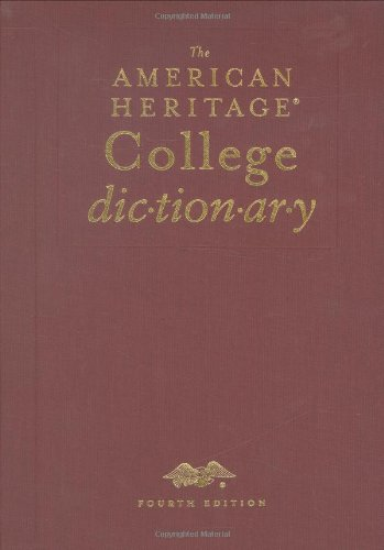 The American Heritage College Dictionary, Fourth Edition Deluxe (The American Heritage College Dictionary Fourth Edition)