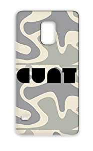 Anti-shock Text Women Typography Not Safe For Work Type TPU For Sumsang Galaxy S5 Black Cunt01 Case Cover
