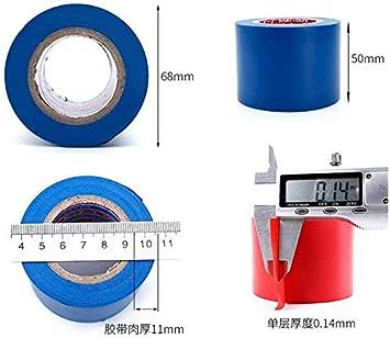 imperm/éable Ruban adh/ésif isolant en PVC 50 mm r/ésistant /à l/étirement et robuste. forte adh/érence