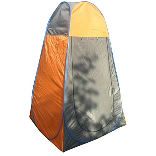Cheap Magarrow Pop Up Changing Room Portable Beach Tent (Orange)