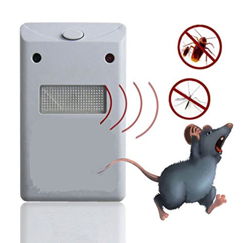 LIPOVOLT Riddex Plus Pest Repeller As Seen on TV Aid for Rodents Roaches Ants