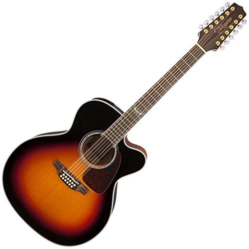 Takamine GJ72CE-12BSB Jumbo Cutaway 12-String Acoustic-Electric Guitar