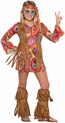 Girls Peace Lovin Hippie Costume -