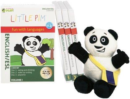(Little Pim English-ESL for Children Discovery Language Set)