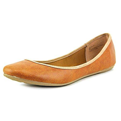 American Rag Cellia 9de las mujeres Ballet Flats coñac