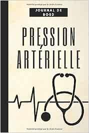 Pression artérielle journal de bord: Enregistrez et surveillez la pression artérielle à la maison,un dossier personnel quotidien et votre moniteur de ... cardiaque, de poids, de température,de notes