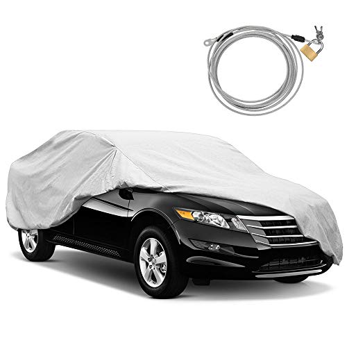 KAKIT Waterproof All Weather Car Cover 6 Layers Durable Car Cover 100%...