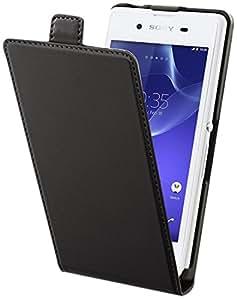 Muvit SESLI0127 - Funda cartuchera para Sony Xperia E3, negro