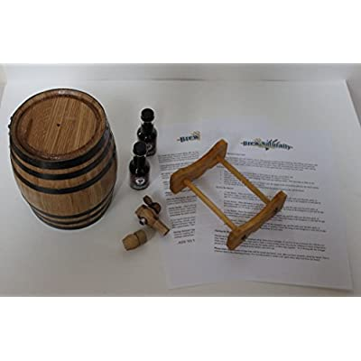 American White Oak Barrel Whiskey Kit