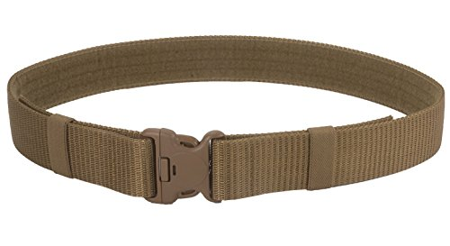(BLACKHAWK! Enhanced Military 2.25-Inch Web Belt (Modernized) - Coyote Tan, X-Large)