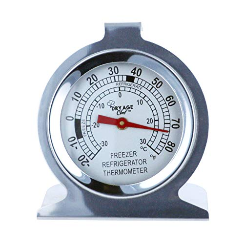 Refrigerator Thermometer by Dry Age Chef ()