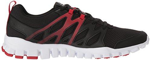 Black 4 White Shoe Pewter Train Primal Red 0 Men's Realflex Running Reebok xpRtaSq0wn