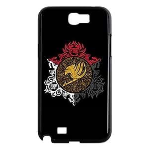Samsung Galaxy N2 7100 Phone Case Covers Black Dragons and Fairies RSX Fashion Phone Cases Hard
