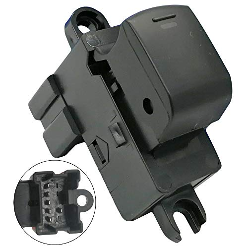 Automotive-leader 25411-EA03A Power Window Switch Assembly Assist Front & Rear Door Replacement for Nissan Navara D40 Thai YD25 Pathfinder Frontier Xterra 4.0 25411-EA003